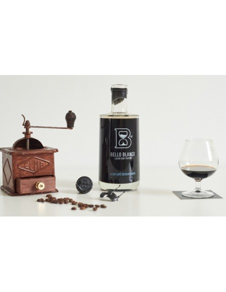 Licor de Café Descafeinado BELLO BLANCO